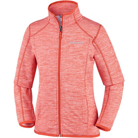 Columbia Wilderness Way Fleece Jacket Kinder tangy orange